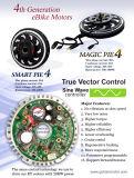 motor eléctrico del eje de la bici de 48V 1000W