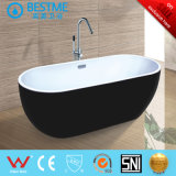 Bañera de acrílico simple con pies de cuatro garras (BT-Y6306)