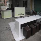 Мебель таблицы Corian длиннего трактира искусственная каменная твердая поверхностная