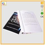 Service d'impression Softcover élevé de livre de Qaulity (OEM-GL015)