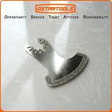 лезвие серпа диаманта 57mm (2-1/4 '') осциллируя с Быстро-Приспосабливать беседку