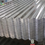 電流を通された波形の鋼板の屋根ふきの金属板