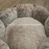 زهرة شكل نمو تصميم [هندمد] رفاهية كلب [سفا بد] محبوب سرير