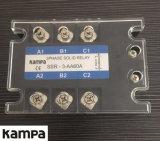 Chargement 24-480VAC Relay&#160 semi-conducteur triphasé de l'entrée 80-280VAC de Tsr-60AA ;
