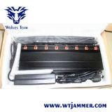 8 Jammer сотового телефона наивысшей мощности полос регулируемый 3G 4G (с WiFi 4G LTE + 4G Wimax)