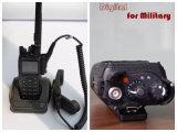 Rádio portátil com DMR em hardware DMR e Protocolo Analógico