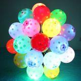 Aerostato chiaro del lattice del giocattolo LED di Kis dei bambini della decorazione di natale
