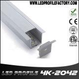 4204 vertiefter Aluminiumstrangpresßling für Dekoration-Deckenleuchte