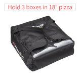 Falda trasparente dell'alimento della pizza del professionista 18 '' del sacchetto termico di consegna