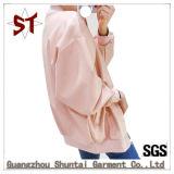 Chaqueta del béisbol de la capa de la chaqueta del collar del soporte de las mujeres de la alta calidad del OEM