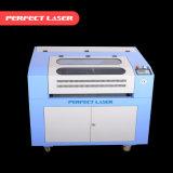 Acryl-/Plastik-/hölzerne /PVC-CO2 Laserengraver-Scherblock-Maschine