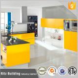 Gabinete de cozinha elevado moderno personalizado da laca do lustro da qualidade superior