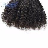 Gruppi ricci crespi brasiliani dei capelli umani qualità superiore 100% del grado di migliore
