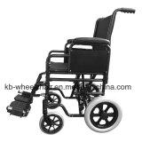 """La """" rueda trasera 12, pulveriza el sillón de ruedas revestido, de acero"""