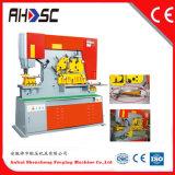 Máquina de corte da máquina de perfuração redonda do furo/Ironworker de aço do ângulo