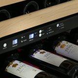 dispositivo di raffreddamento di vino doppio della maniglia di Stright di zona dell'acciaio inossidabile 168bottles