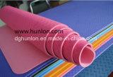 TPE anti-deslizante Tapete de Yoga de borracha com linhas de alinhamento do corpo