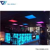 Het hoge Glanzende TegenOntwerp van het Restaurant van de Staaf van de Wijn van het Meubilair Iluminated
