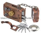 Bloqueio do aro de segurança com a corrente Cross Keys