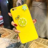 Caixa consideravelmente encantadora do telefone móvel do teste padrão dos desenhos animados para o iPhone 7 8 positivos