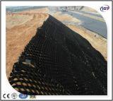 Glatte Oberfläche perforiertes HDPE Geocells für Steigung Solidafication