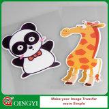 Bon vinyle imprimable de transfert thermique de couleur foncée de Qingyi