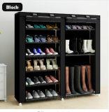 Armoire de racks de chaussures Chaussures de grande capacité de stockage de mobilier de maison DIY Rack simple chaussure Portable (FS-03A)