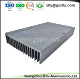 Los materiales de construcción metálica de aluminio de extrusión Disipador de calor