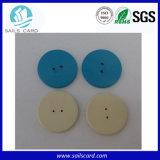 modifica lavabile della lavanderia del tasto di 20mm RFID per la lavanderia dell'ospedale