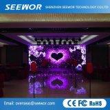 Il livello lo schermo di visualizzazione dell'interno del LED di velocità di rinfrescamento P4mm