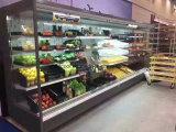 Свежее мясо Multideck воздух Шторки радиатора для отображения супермаркет