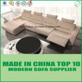 熱い販売のアイスクリームカラーイタリアの革リクライニングチェアのソファー