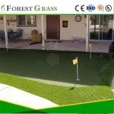15mm 더미 고도 2 색깔 자연적인 녹색 두꺼운 골프 퍼팅 그린 잔디밭