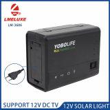 12V 30W du système d'éclairage solaire portable