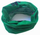 工場OEMの農産物のMicrofiber 25*50cm緑の継ぎ目が無いポリエステルTubiesのヘッドバンド