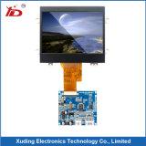 Visualización negativa azul del LCD de la pantalla del monitor de Htn LCD