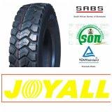 295/80r22.5 18pr Joyall 상표 고품질 광선 강철 트럭 타이어