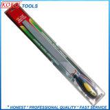 Круглый стальной Limas Machinist файлы с пластиковой ручкой