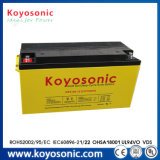 12ah l'alimentation par batterie profonde de cycle de la batterie 24V AGM roule la batterie 12V