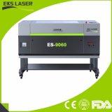 Neuer hölzerner Acrylnichtmetall Es-9060 CO2 Laser-Ausschnitt und Gravierfräsmaschine