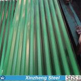Feuille de toiture d'Aluzinc/feuille en acier ondulée galvanisée de toiture