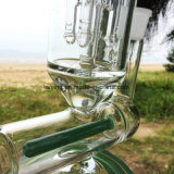 Nuovo narghilé di vetro di vetro ialino del tubo di fumo dell'acqua per fumare