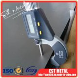 Placas Titanium de ASME Sb265 Gr1 para el cambiador de calor
