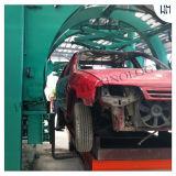 Shell inútil de los coches que levanta y que inclina la máquina que desmonta auto