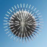 알루미늄 1070 감기 위조 Pin 탄미익 LED 열 싱크 118mm
