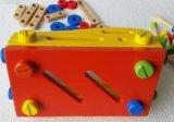 Atelier de bébé en bois d'un marteau de charpentier Outil jeu de prétendre jouer jouet éducatif
