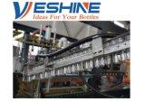 Automatische Plastikflasche, die Maschine herstellend durchbrennt