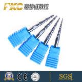 높은 Qualitycarbide 테이퍼 나선 플루트 공 코는 중국제 잘랐다