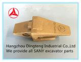 Supporto 12076804k del dente della benna di Sany per l'escavatore idraulico di Sany Sy60 Sy65 Sy75 Sy95