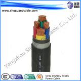 Изолированный PE кабель системы управления обшитый PVC